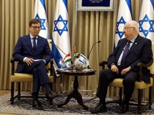 A két ország közötti barátság elmélyítésén fog dolgozni az új magyar nagykövet Izraelben