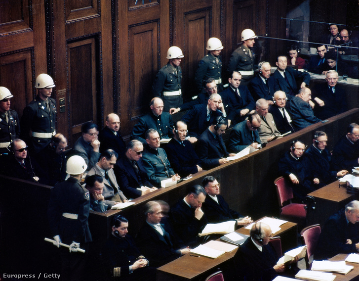 Így állt bíróság elé a Harmadik Birodalom