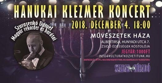 Hanukai Klezmer Koncert / Albertirsa