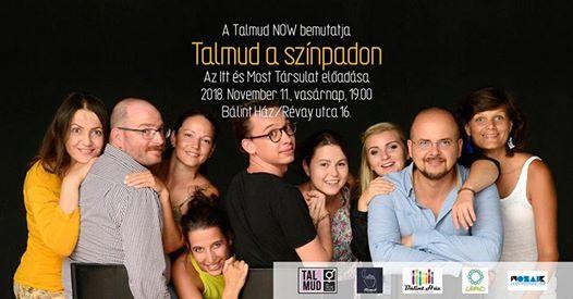 Talmud a Színpadon: Az Itt És Most Társulat improvizációs estje