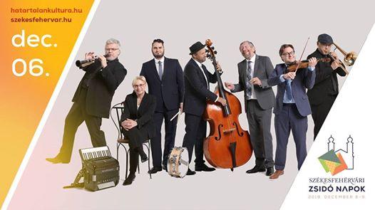 Hanukai klezmervarázs a Budapest Klezmer Band előadásában