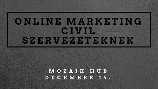 Online marketing civil szervezeteknek