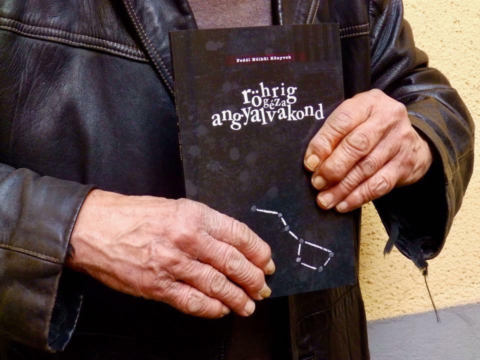 Már több mint 3 millió forintot kerestek a hajléktalanok Röhrig Géza új könyvének terjesztésével