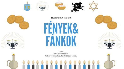 Hanuka 5779 – Fények és fánkok