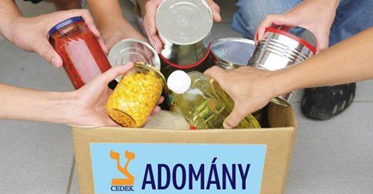 Tartós élelmiszergyűjtés a CEDEK és SPAR üzletek szervezésében