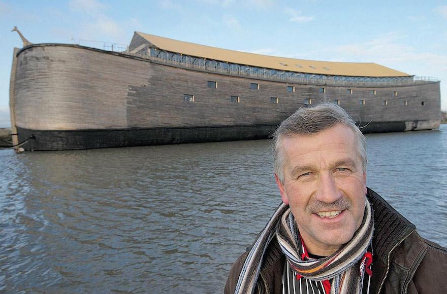 Izraelbe akar eljutni Noé bárkája másolatával a holland hajóépítő