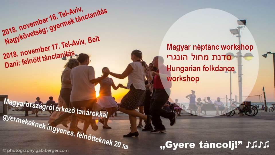 Magyar néptánc workshop