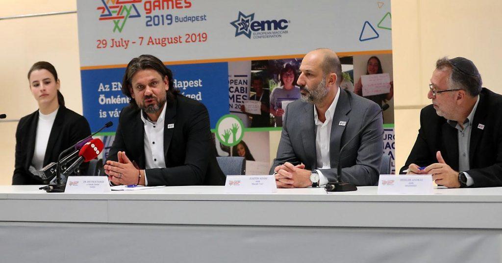 A zsidók nem folyton a könyveket bújják – 250 nap múlva Maccabi Európa Játékok Budapesten