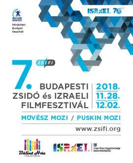 Zsidó és Izraeli Filmfesztivál / november 28. – december 2.