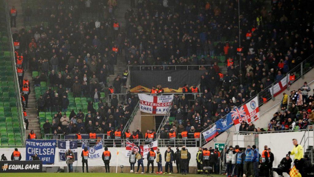Budapesten skandáltak antiszemita rigmusokat a Chelsea szurkolói