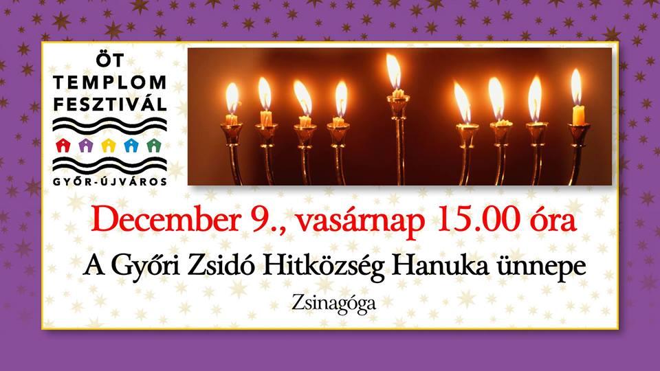 A Győri Zsidó Hitközség Hanuka ünnepe