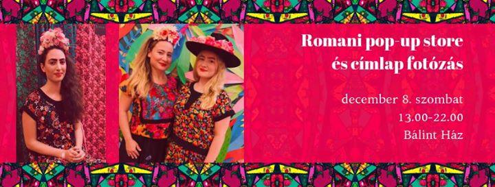 Romani pop-up a Bálint Házban