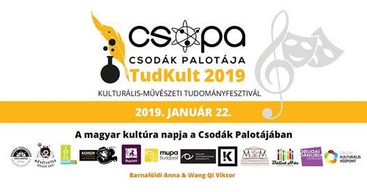 Tudkult 2019 – a magyar kultúra napja a Csodák Palotájában