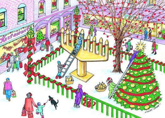 """Keresztény – Zsidó Társaság, """"Hanukától Karácsonyig"""""""