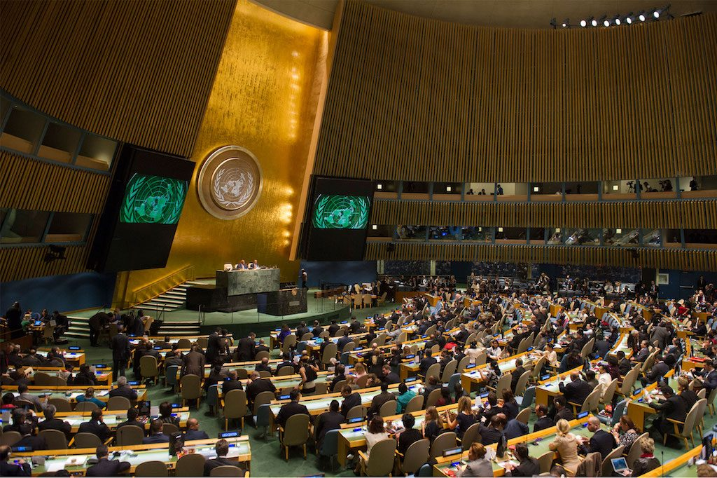 Nem ítélte el a Hamászt az ENSZ Közgyűlése