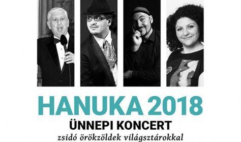 HANUKA 2018 – ünnepi koncert