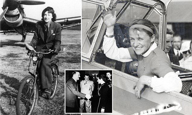 Egy zsidó és egy árja női pilótája is volt Hitlernek