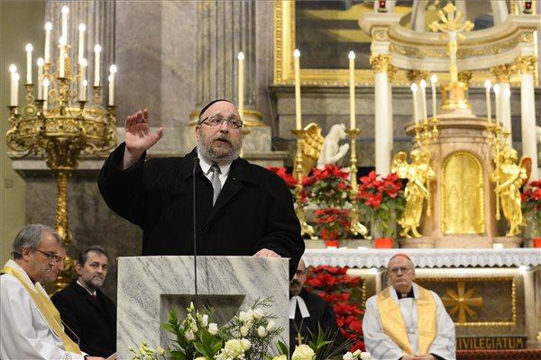 Zsidó-keresztény imaóra volt Budapesten