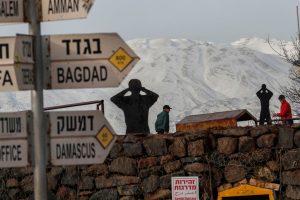 Síelők feje felett semmisített meg egy rakétát az izraeli Vaskupola