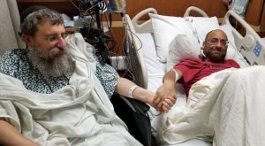 Egy amerikai rabbi a veséje után a mája egy részét is egy idegennek adományozta