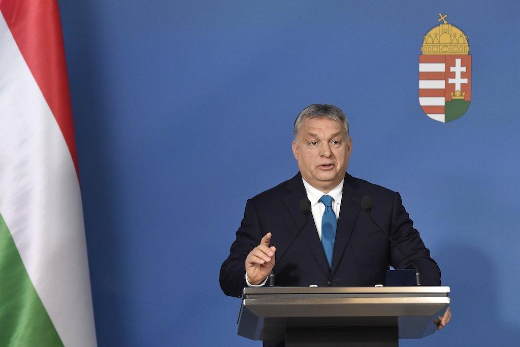 Orbán Viktor magyarországi zsidó vezetőknek kívánt jó és édes új évet
