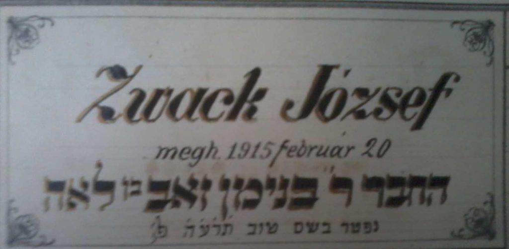 104 éve halt meg Zwack József, az Unicum atyja