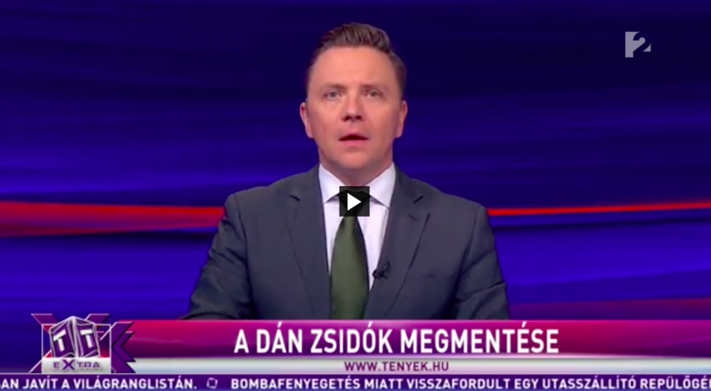 A TV2 szerint Dániából is tömegesen deportáltak zsidókat