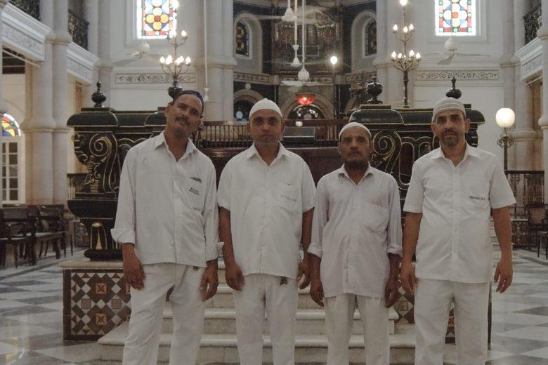 Muszlimok gondozzák a helyi zsinagógát Indiában