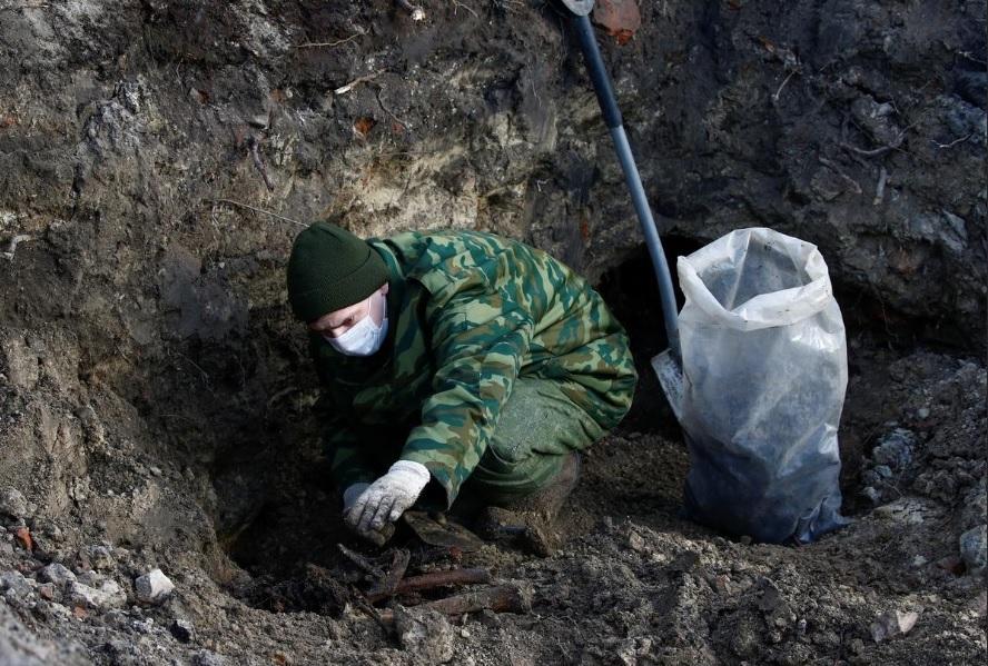 Zsidók maradványait rejtő tömegsírra bukkantak Fehéroroszországban