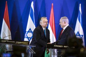 Orbán: Az antiszemitizmus visszaszorítása lesz az EP-választások egyik fontos célja
