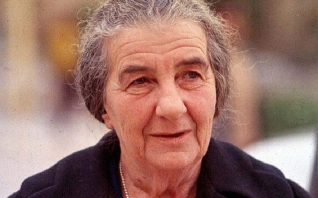 5 fontos idézet Golda Meirtől