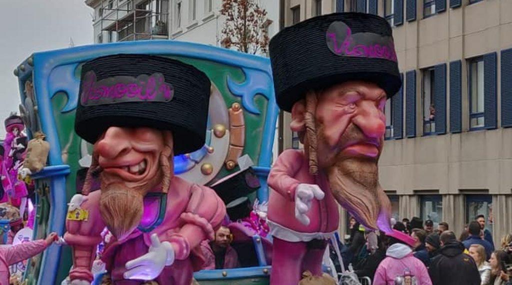 Antiszemita bábuk miatt került le az UNESCO világörökségi listájától egy belga karnevál