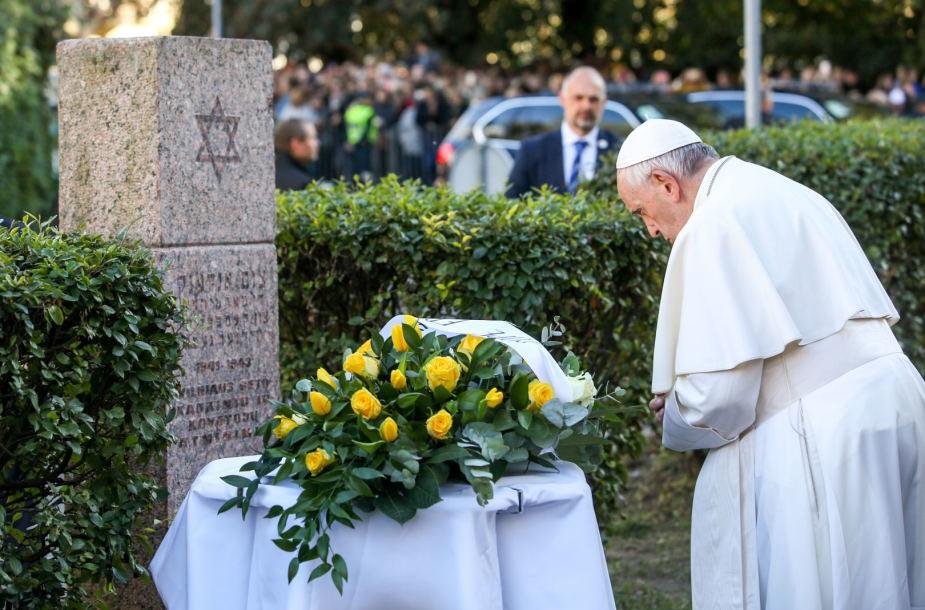 Ferenc pápa: Az antiszemitizmus egy elfajult gyűlölethullám része