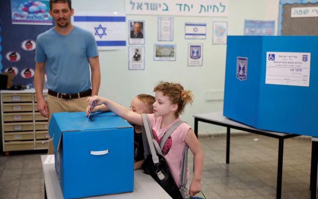 Már javában folynak a választások Izraelben