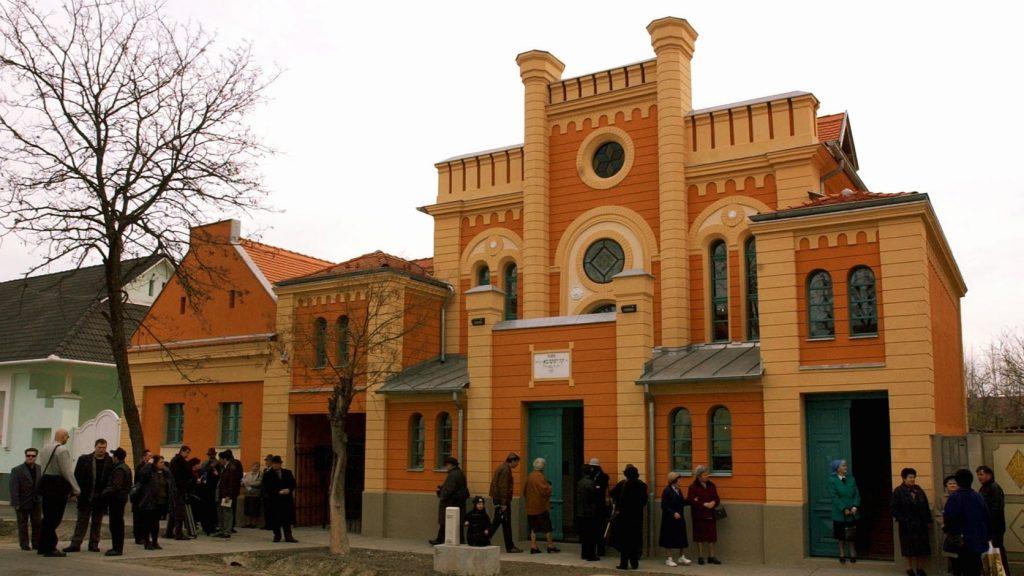 Megújul a makói ortodox zsinagóga
