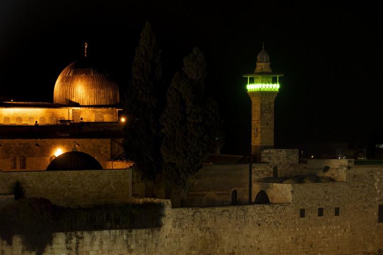 Tűz volt tegnap a jeruzsálemi Templomhegyen is