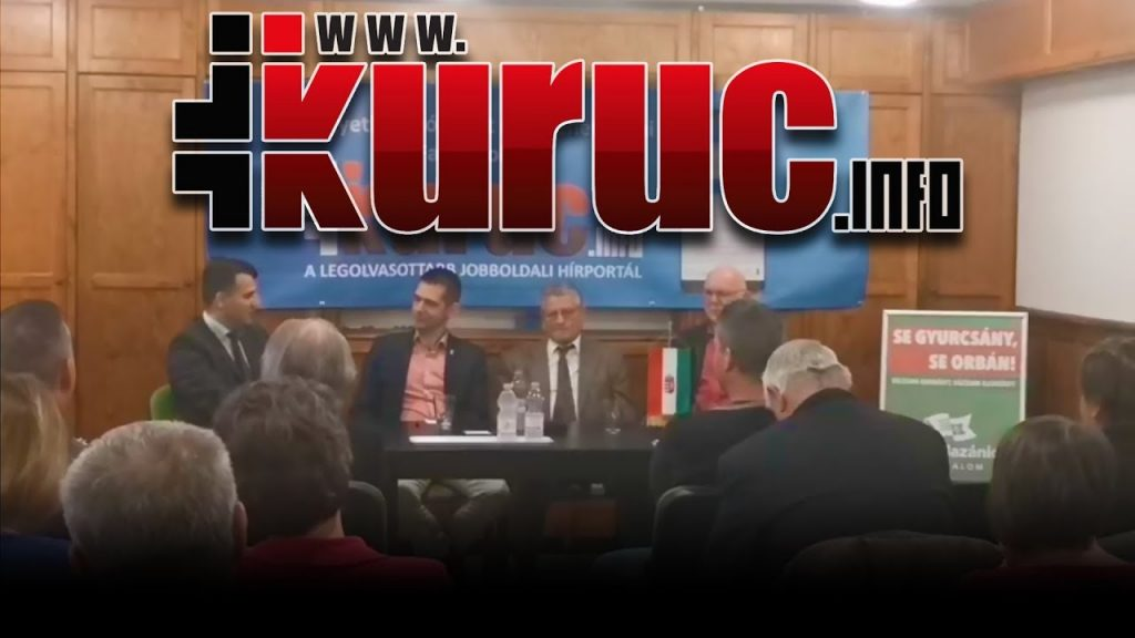 Kiléptek a fényre a Kuruc.info újságírói és egy jót zsidóztak