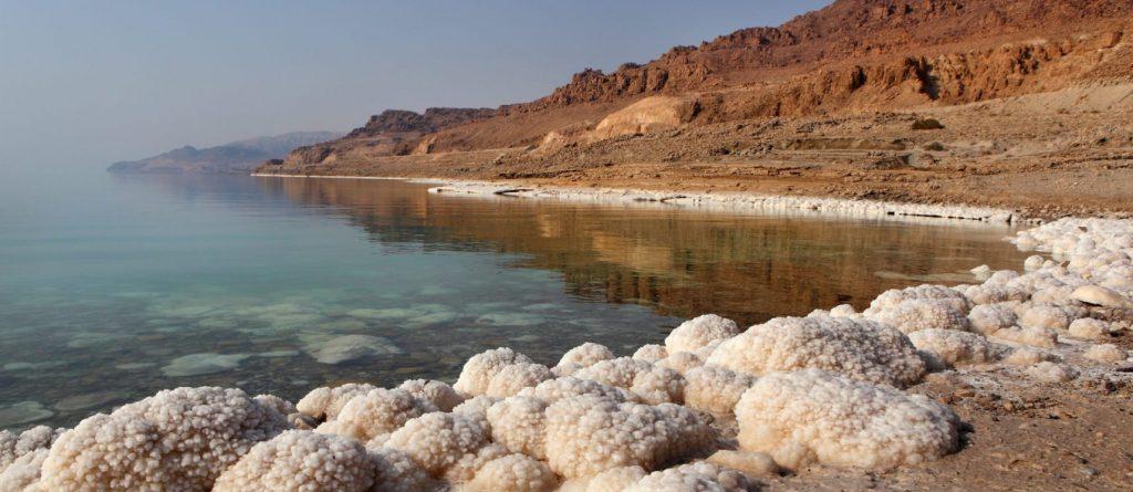 Látványos videón zsugorodik össze a Holt-tenger