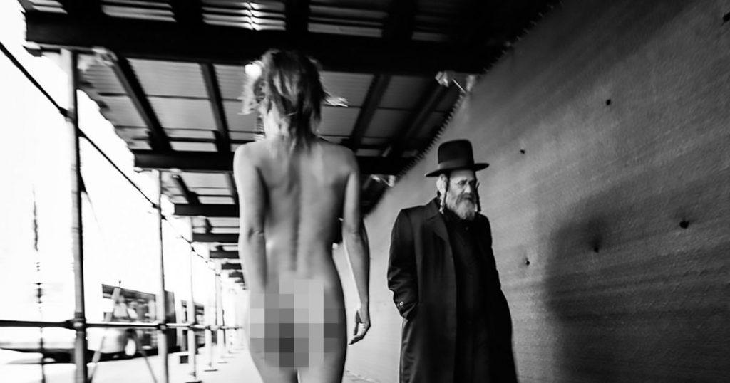 A Siratófal után a brooklyni haszidoknál okozott botrányt a belga aktmodell
