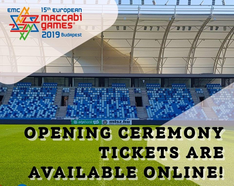 Már lehet jegyet venni a budapesti Maccabi Játékok nyitóünnepségére