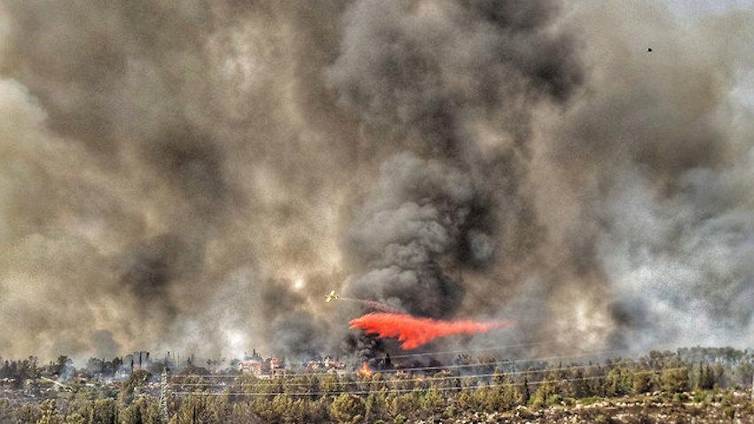Súlyos bozóttüzek pusztítanak Izrael több régiójában
