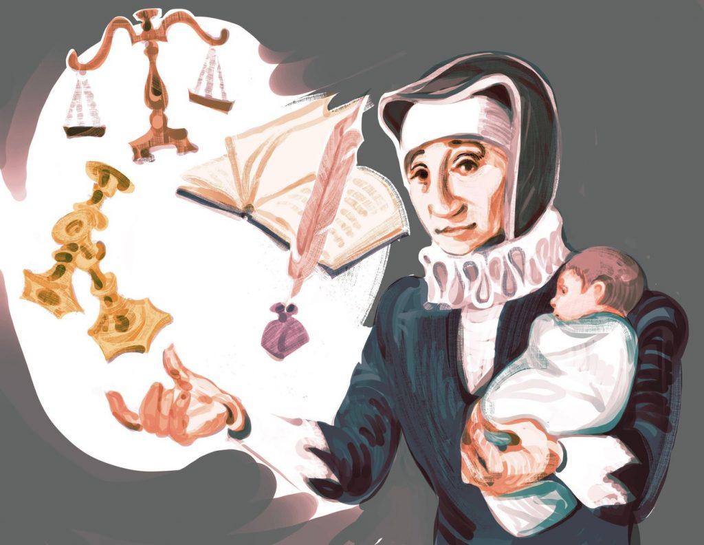 A zsidó nő, aki 14 gyereke mellett vitt virágzó vállalkozást