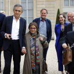 Heller Ágnes Macron francia elnöknél járt