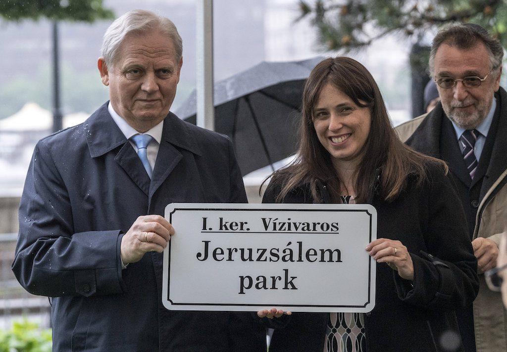 A Lánchíd közelében neveztek el parkot Jeruzsálemről
