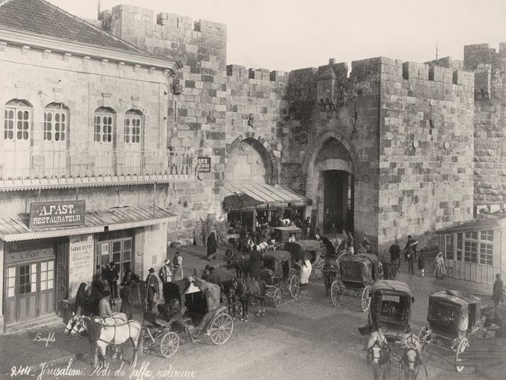 Vessünk egy pillantást a 19. századi Jeruzsálemre