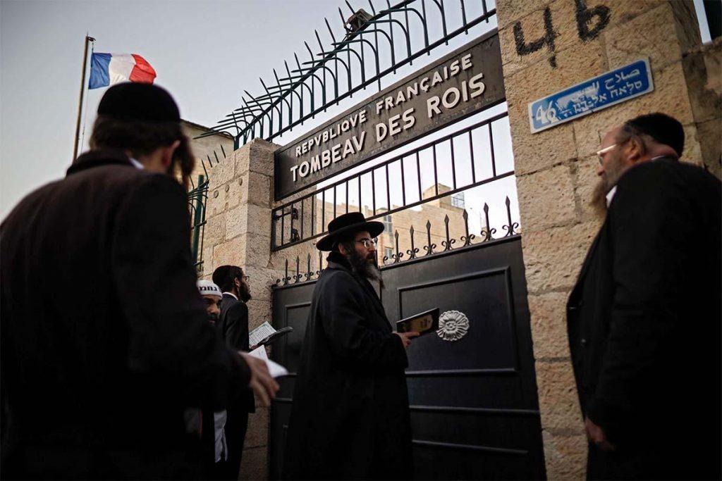Ismét látogatható Jeruzsálemben az egyik legfontosabb zsidó síremlék