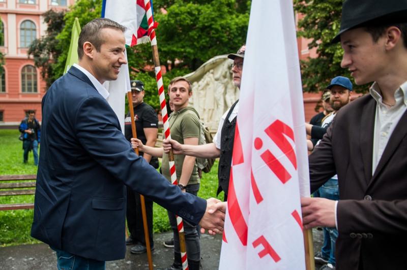 Horthy évfordulón mutatkozott be a szélsőjobbos Magyar Légió