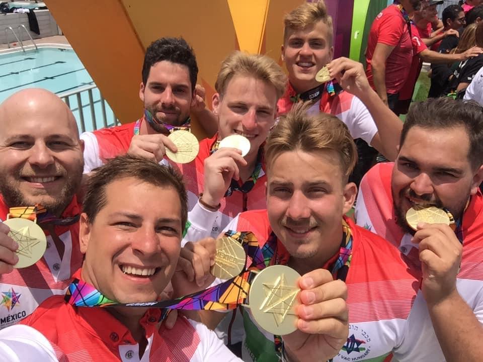 Aranyat nyert a a magyar vízilabda csapat a Pánamerikai Maccabi játékokon