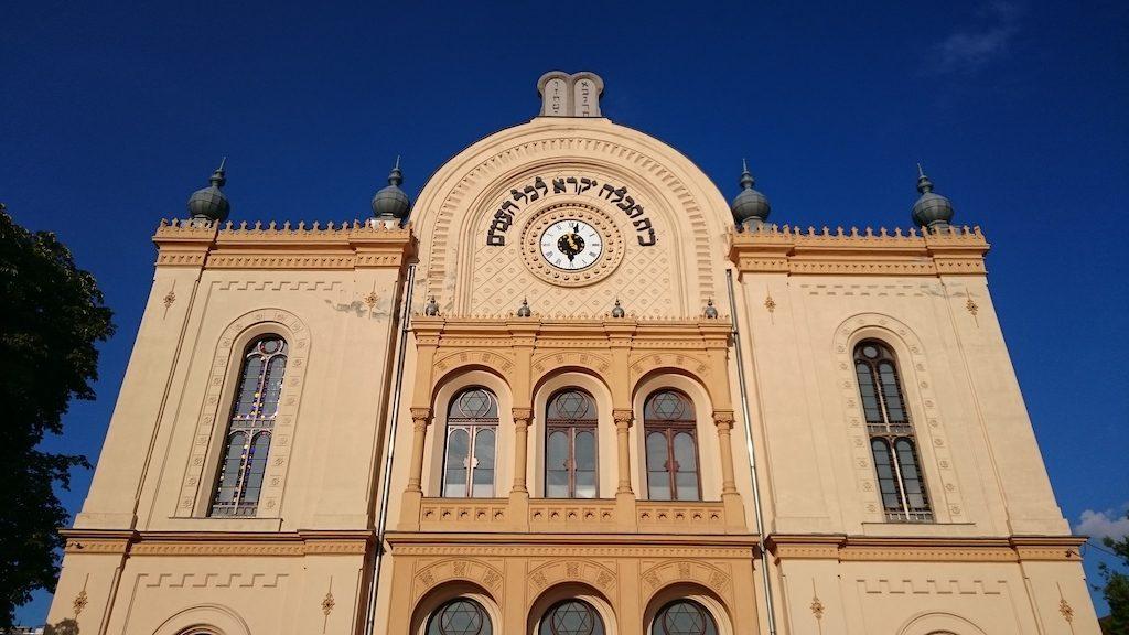 A 150 éves pécsi zsinagógára emlékeztek