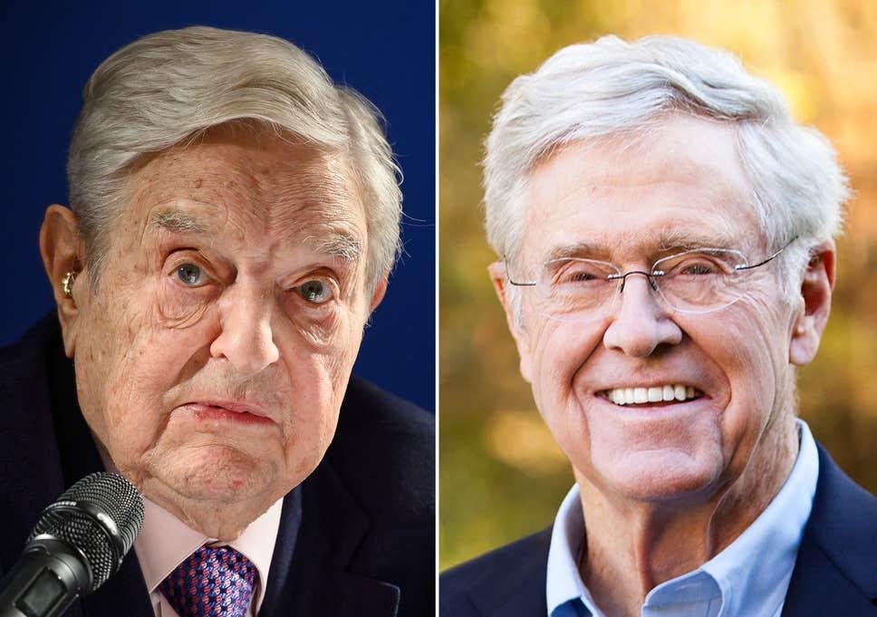 Soros György összefog a jobboldali millárdossal, hogy véget vessen a vég nélküli háborúnak